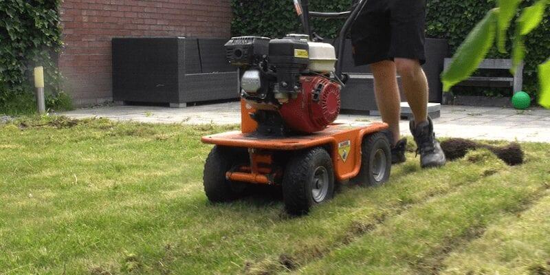 verwijderen gras